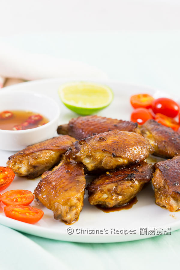 香煎香茅雞翼 Pan Fried Lemongrass Chicken Wings03