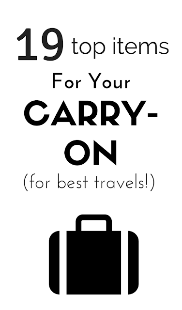 Make your next airline travel a breeze with this list of top items to slip in your carry-on for a great flight and your best trip!