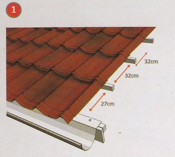 jarak reng baja ringan kanopi untuk genteng beton soalan ak