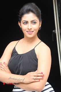 Telugu Actress Kruthika Jayakumar Stills in Short Dress at Intlo Deyyam Nakem Bhayam Success Meet  0076.JPG
