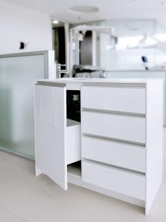 mobiliario clínico isla 3