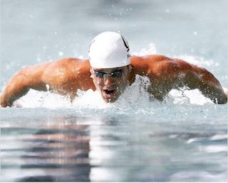 U.S. Olympic swimmer Tom Shields