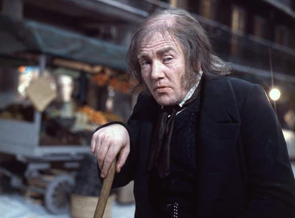 Albert Finney as Scrooge