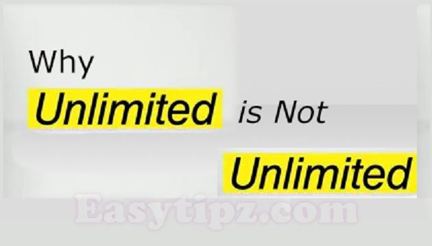 Unlimited Hosting but not really Unlimited!