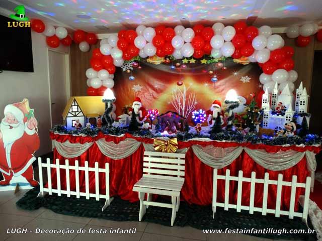 Decoração de Natal para festa de condomínio