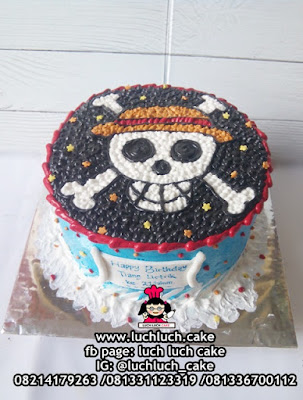 Birthday Cake Anime One Piece