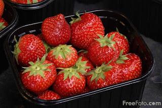 Image: strawberries (c) FreeFoto.com. Photographer: Ian Britton