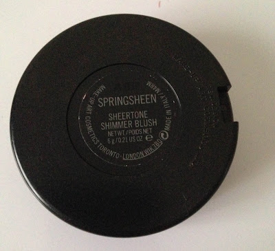 MAC Sheertone Shimmer