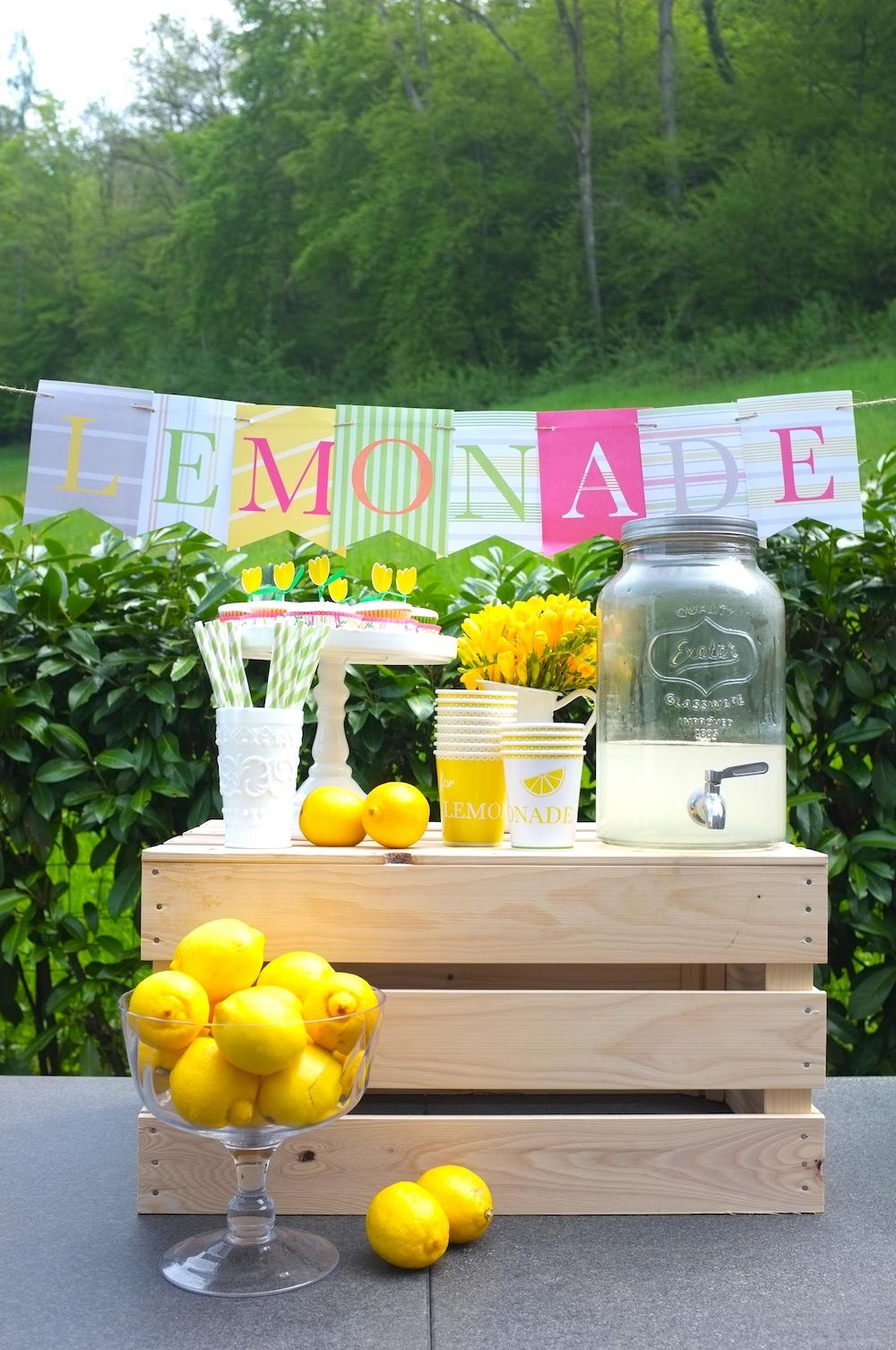 In Good Company Ch Good Looks Diy Lemonade Stand