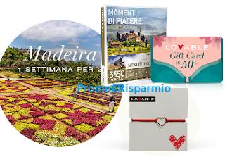 Logo Lovable ''Il giardino incantanto'': vinci gratis Smartbox, Gift e viaggio a Madeira + premio sicuro