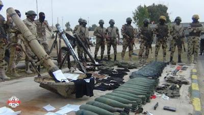 اسلحة تم ضبطها في سيناء
