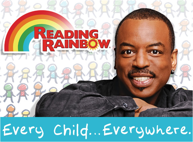 Levar Burton of Reading Rainbow