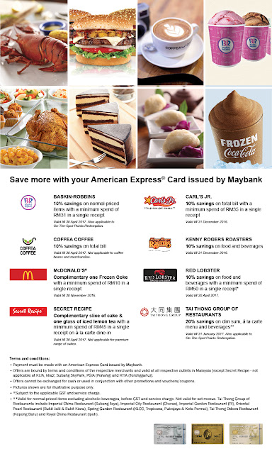 Maybank American Express Card Benefits