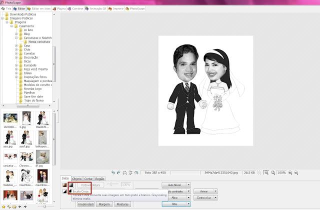 como fazer uma caricatura no photoscape