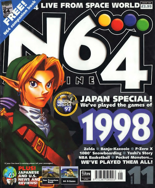 N64 Magazine Issue Nº011 - (1998)