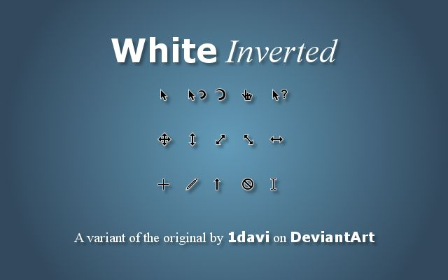 White Inverted