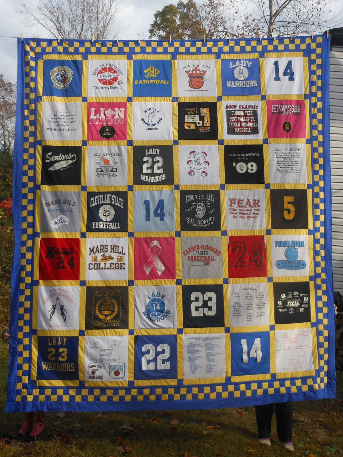 Sports T Shirt Quilt Patterns Bcd Tofu House