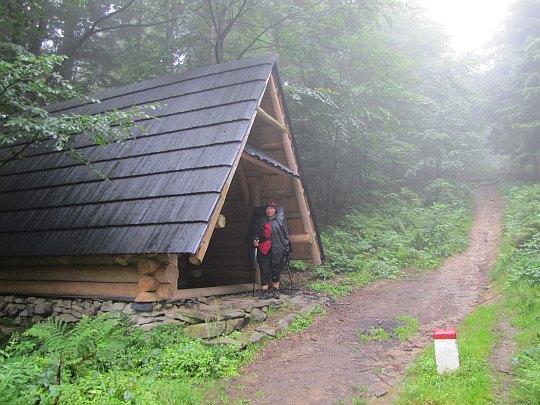 Przełęcz Jałowiecka Południowa (993 m n.p.m.).