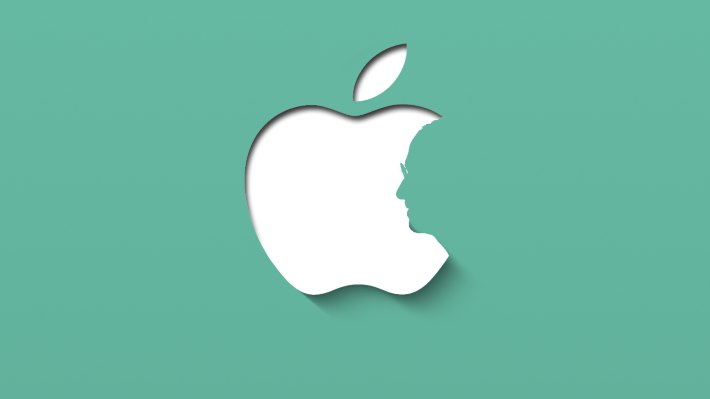 Wallpaper: Stylish minimal design inspired by Apple (Green Ver.)