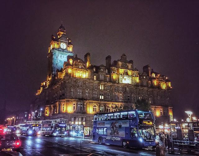 Balmoral Hotel, Princes Street, Edinburgh, Scotland