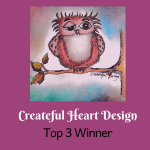 Createful Heart Top 3 Winner