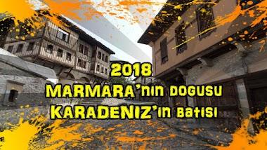 2018 Marmara'nın doğusu Karadeniz'in Batısı