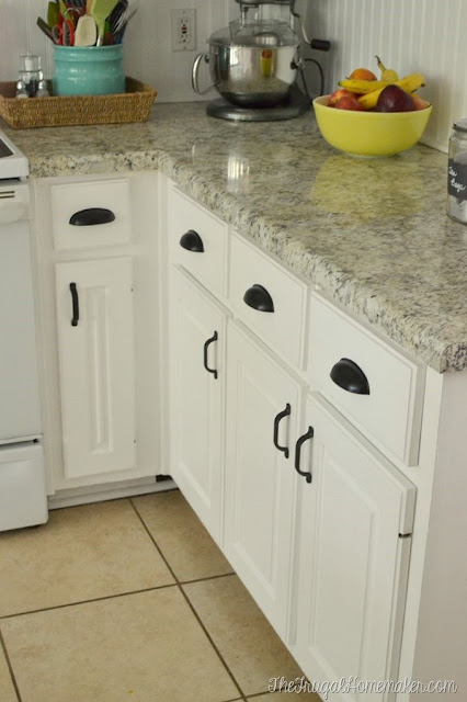 Christina Used Matching Pulls And Cup From Liberty Hardware They Really Create A Nice Contrast With The White Cabinets