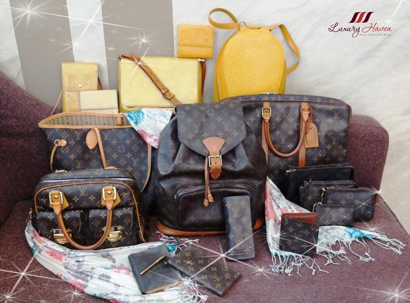 lv monogram canvas epi leather vernis bags