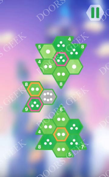 Hexologic Level 55 Solution, Cheats, Walkthrough for android, iphone and PC Steam