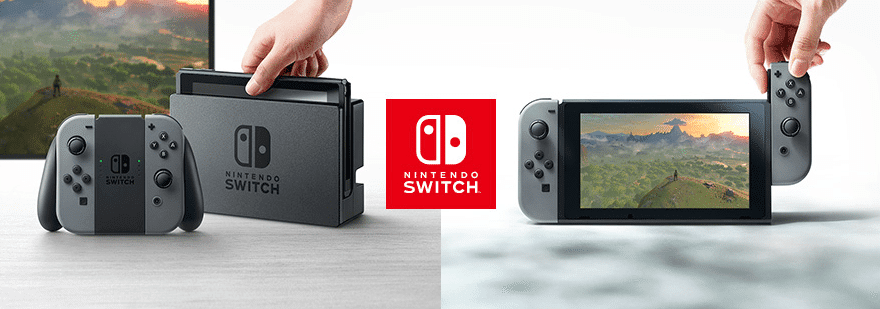 nintendo switch vente