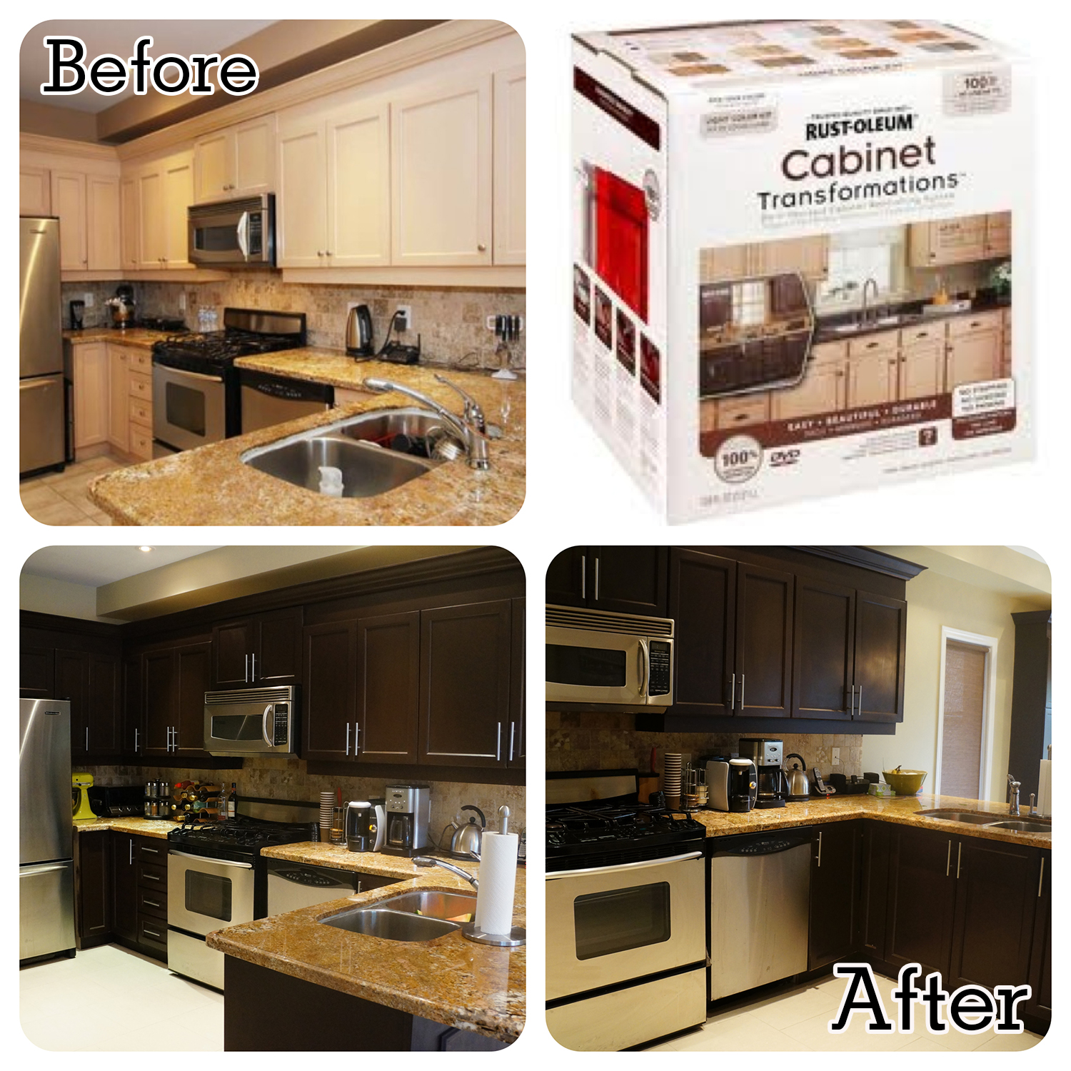 Kitchen Cabinet Transformations Galley Kitchen
