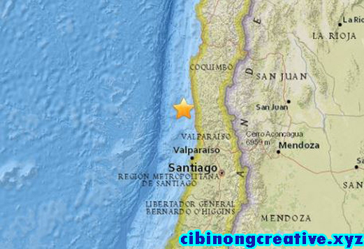 Gempa bumi gegar Chile || Concussion Chile earthquake