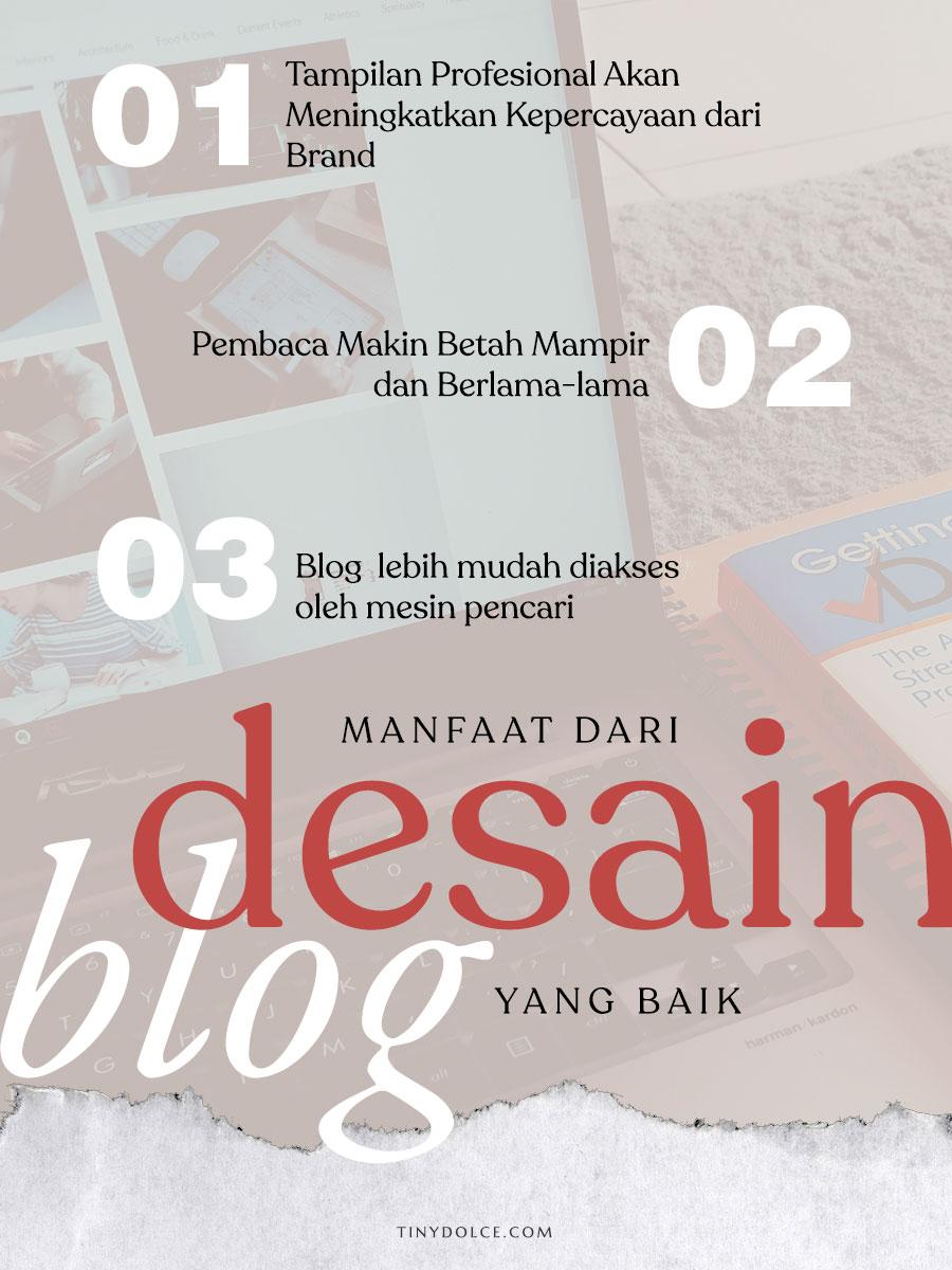 Manfaat desain blog yang baik