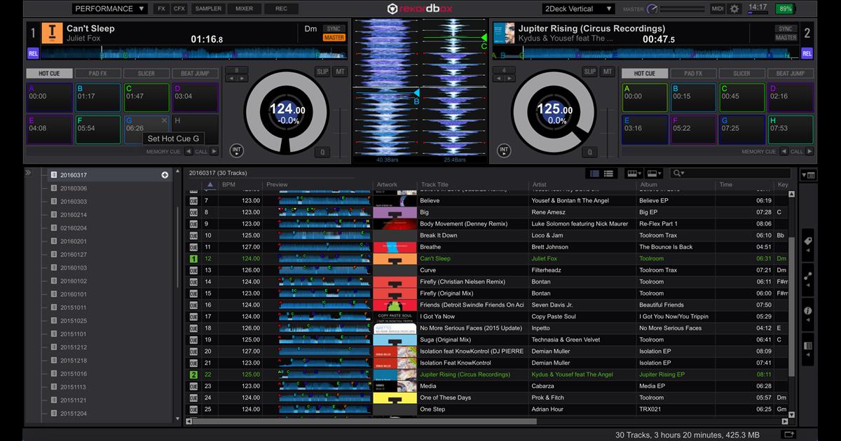 Rekordbox DJ 4 3 1 WiN/MAC - Programas para DJ - DJ Software