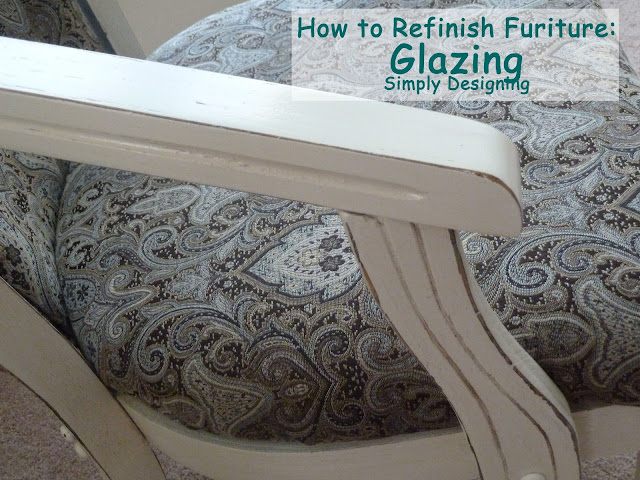 Glaze furniture 01a How to Refinish Furniture: Glazing 23