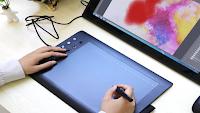 مراجعة لوحة الكترونية تعوض السبورة والحاسوب لتسجيل الدروس ونشرها على اليوتيوب Graphics Tablet