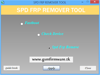 http://www.gsmfirmware.tk/2017/05/SPD-FRP-Remover-Tool.html
