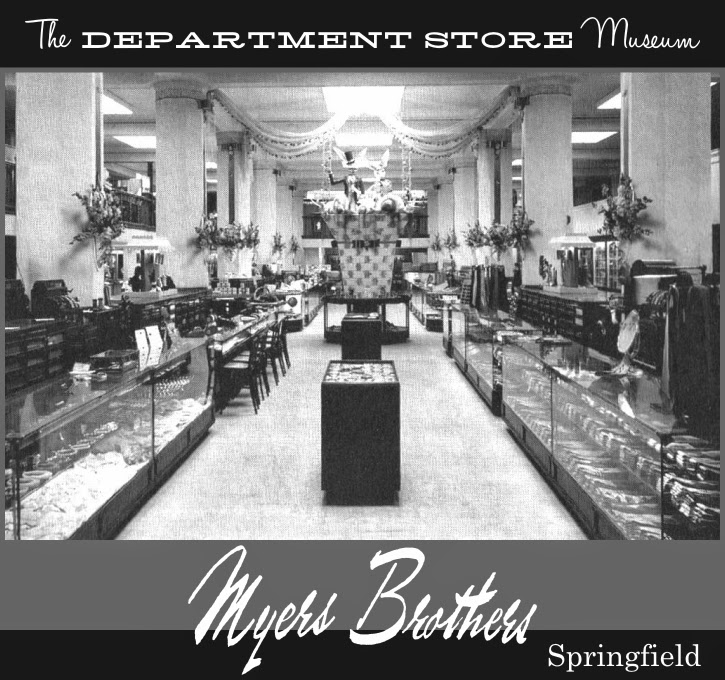 jewelry stores springfield il the department store museum myers brothers springfield 3933