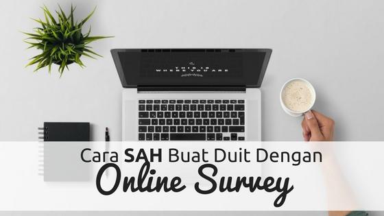Buat Duit Dengan Online Survey