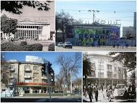 Фото города Душанбе 60-ых годов и фото тех же мест в 2015 году.