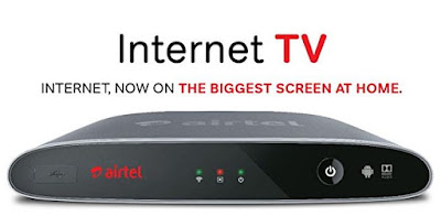 Airtel Internet TV with DTH, 4K Enabled Android Platform Launched