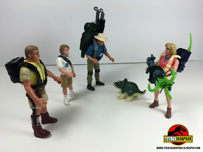 jurassic park kenner figures with accessories