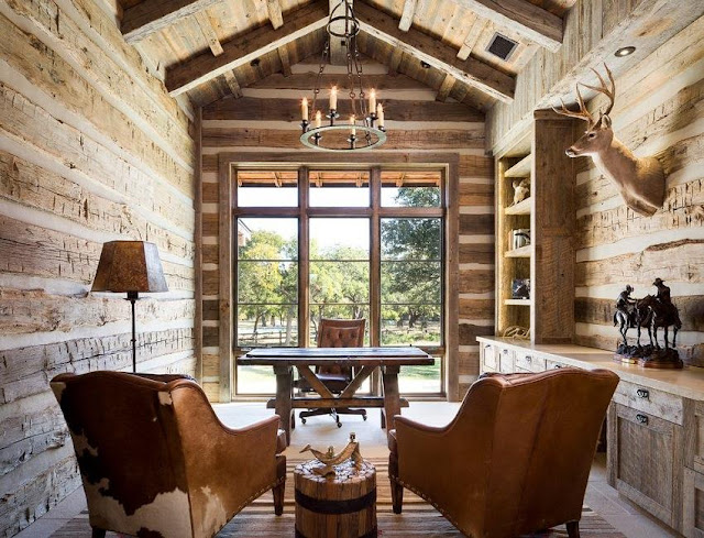 best wood rustic country office furniture sets decorating lighting ideas