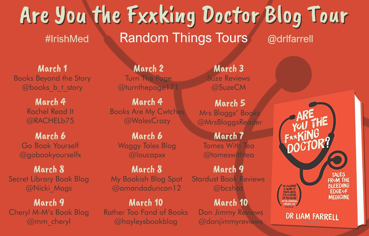Book Review: Are you the Fxxking Doctor by Liam Farrell