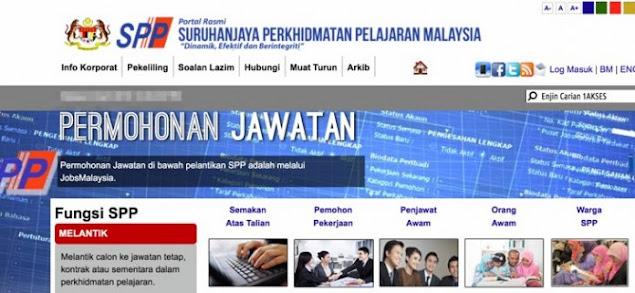 Semakan Keputusan Temuduga SPP 2021 Online