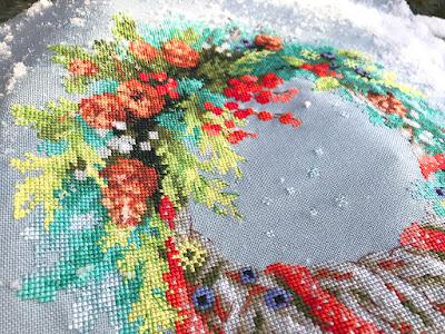 зимний венок, зимний венок риолис