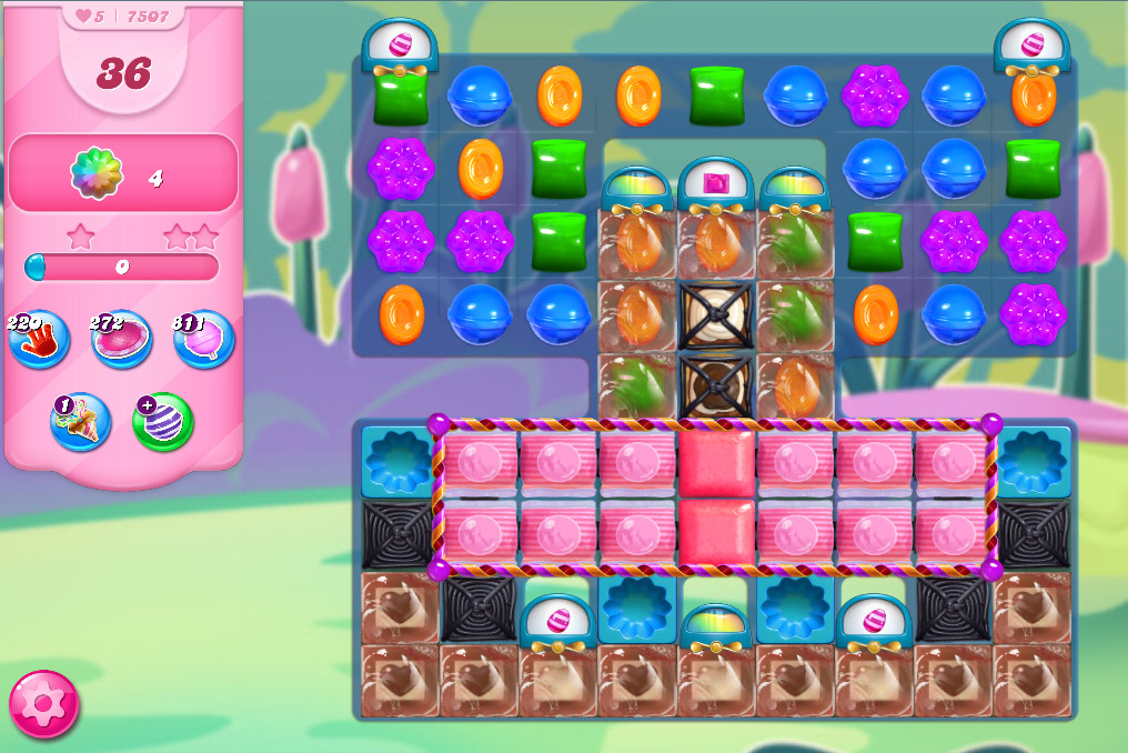 Candy Crush Saga level 7507