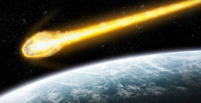 poze asteroid-Pamant-coliziune