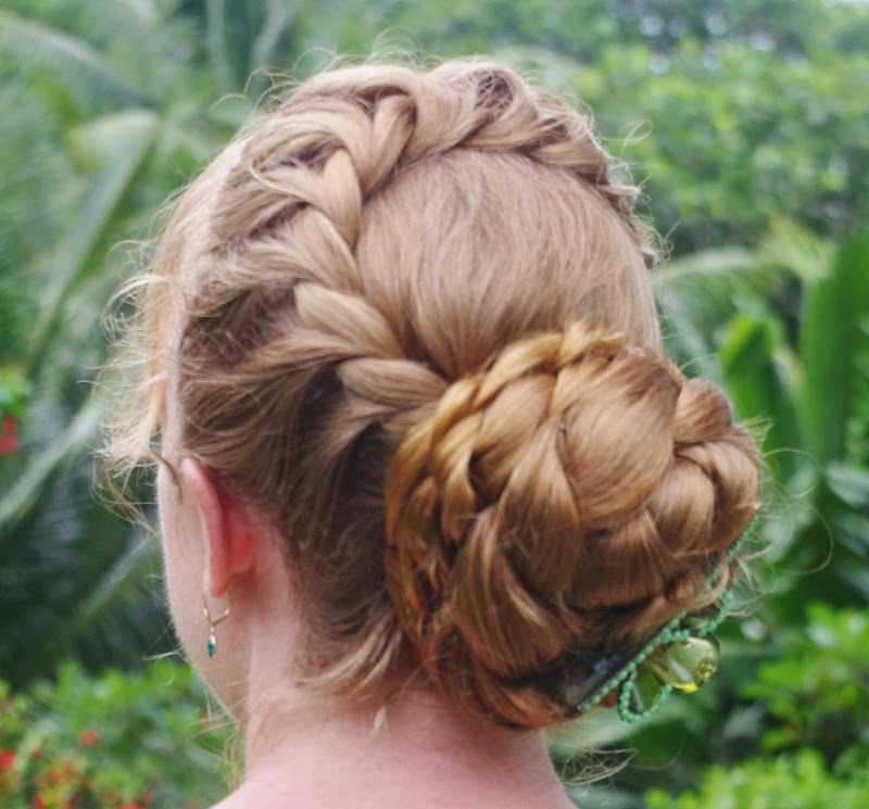 Braids & Hairstyles For Super Long Hair: Elsa's Updo