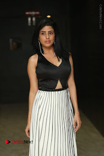 Actress Pragya Stills Beautiful Long Dress at RGV Shiva to Vangaveeti Event  0058.JPG